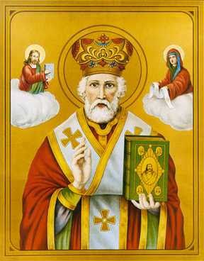 El Santo del Dia: 6 DE DICIEMBRE SAN NICOLÁS DE BARI OBISPO