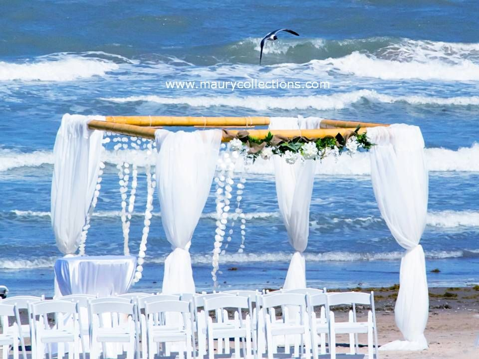 Beach Wedding Maury Collections South Padre Island Packages Destination Weddings