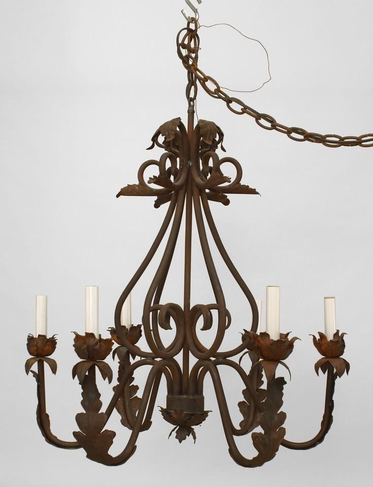 Italian Renaissance Lighting Chandelier Wrought Iron In 2019