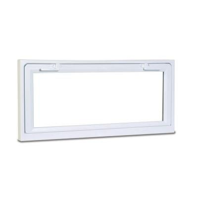 American Craftsman 50 Hopper Basement Windows 32 In X 15 In White With Lowe Insulated Glass An American Craftsman Window Vinyl Basement Window Replacement