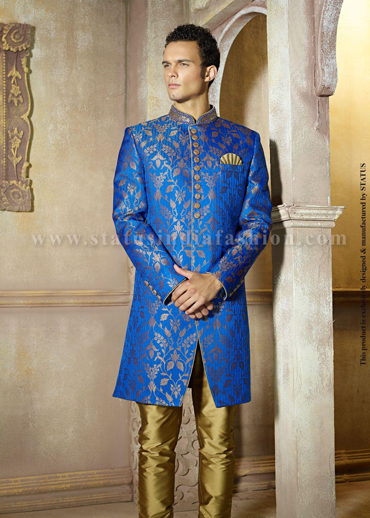 Velvet sherwani, indian wedding wear, groom sherwani, best