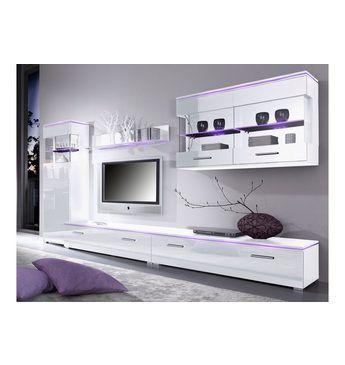 TV-Lowboard, Breite 120 cm oder 180 cm Jetzt bestellen unter - wohnzimmer weiß hochglanz