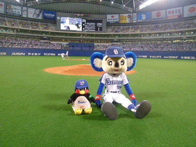 つば九郎 ドアラ Google 検索 野球 マスコット ドアラ つば九郎