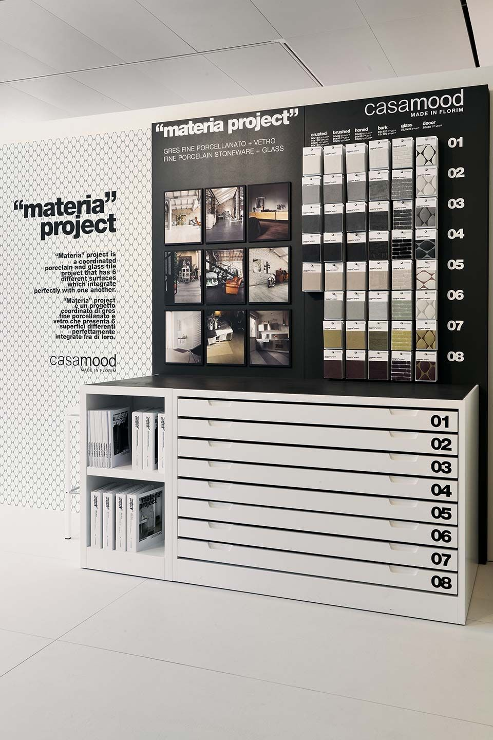Materia project by casamood display interested come and for Despachos de diseno de interiores df