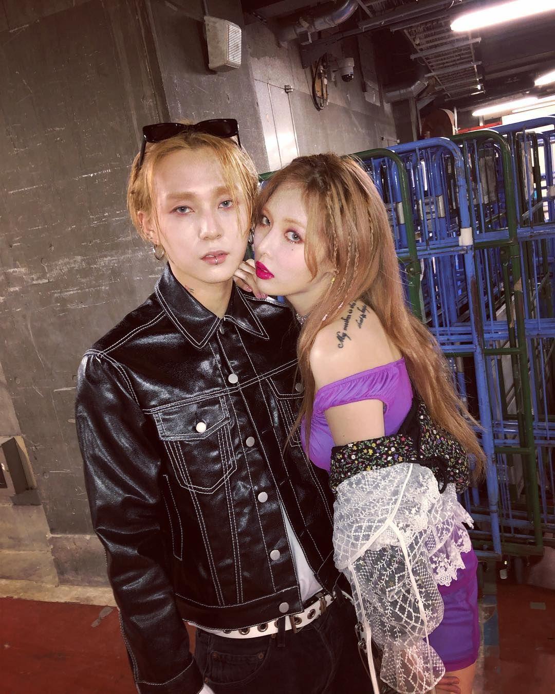Hyuna Y E Dawn Muestran Su Belleza Eterea En Varias Fotos Hyuna Edawn Hyojong Kpop Korean Idol Kpop Couples Hyuna Kim Cute Couples