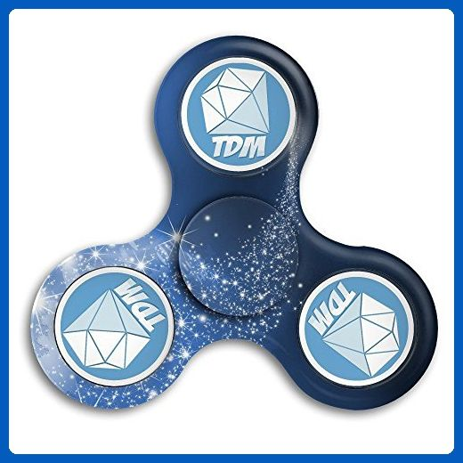 Ick H Unisex Youtube Dantdm Tri Fidget Hand Spinner Toy Stress