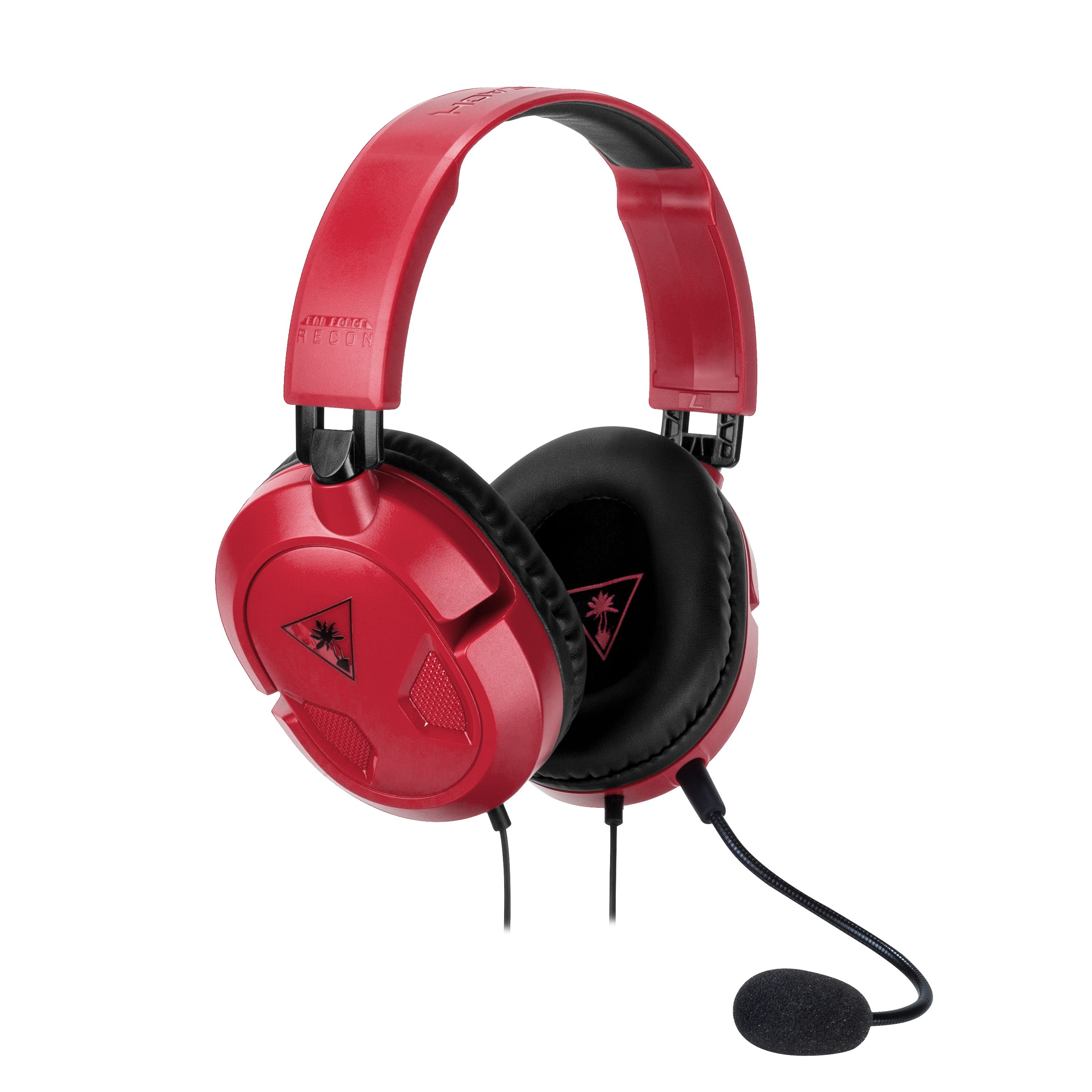 Turtle Beach Recon 50p Headset Red Walmart Exclusive Ps4 Xbox One Pc Mobile Headset Red Turtle Xbox One Pc