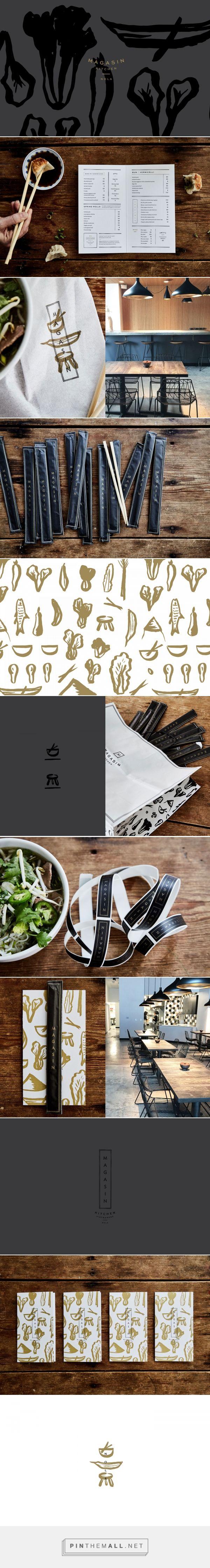 Magasin Kitchen Vietnamese Restaurant Branding and Menu Design by Stitch Design Co. | Fivestar Branding Agency – Design and Branding Agency & Curated Inspiration Gallery