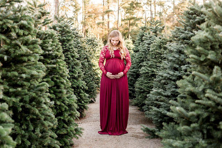 Christmas Tree Maternity Kingwood Houston Maternity Photos Plant