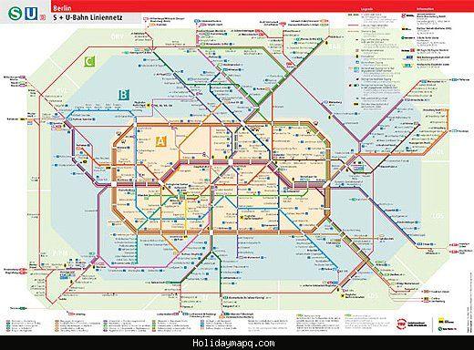 Naples Subway Map.Cool Naples Subway Map Holidaymapq Berlin Travel Berlin Subway Map