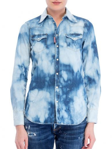a183960939 DSQUARED2 Dsquared Bleached Denim Shirt.  dsquared2  cloth  https  Bleached  Denim