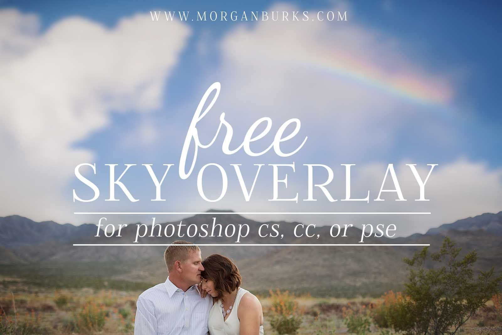 Free Sky Overlay For Photoshop And Elements Photo