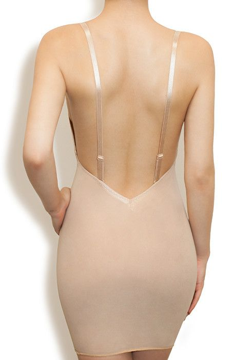 Backless slimming undergarments