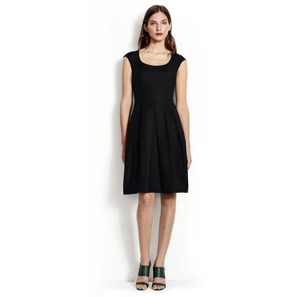 Clearance Outlet Locations Clearance Fashionable Womens Petite Plain Sleeveless Fit & Flare Dress - 10 -12 - BLACK Lands End Clearance Store Cheap Online TFeiKLfz3