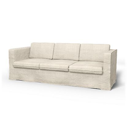 Surprising Karlanda 3 Seater Sofa Cover Loose Fit For The Home Pdpeps Interior Chair Design Pdpepsorg