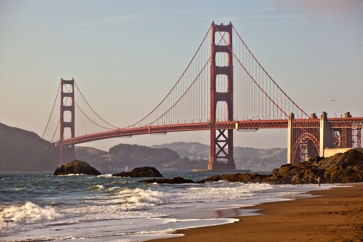 Golden Gate Bridge San Francisco, USA. #SanFrancisco
