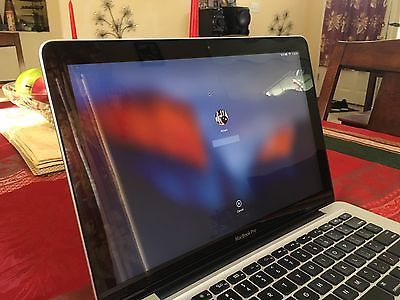 "Apple MacBook Pro 13""  A1278 Mid-2012 Intel i5 2.5GHz 4GB RAM 500GB HDD OSX Yose"