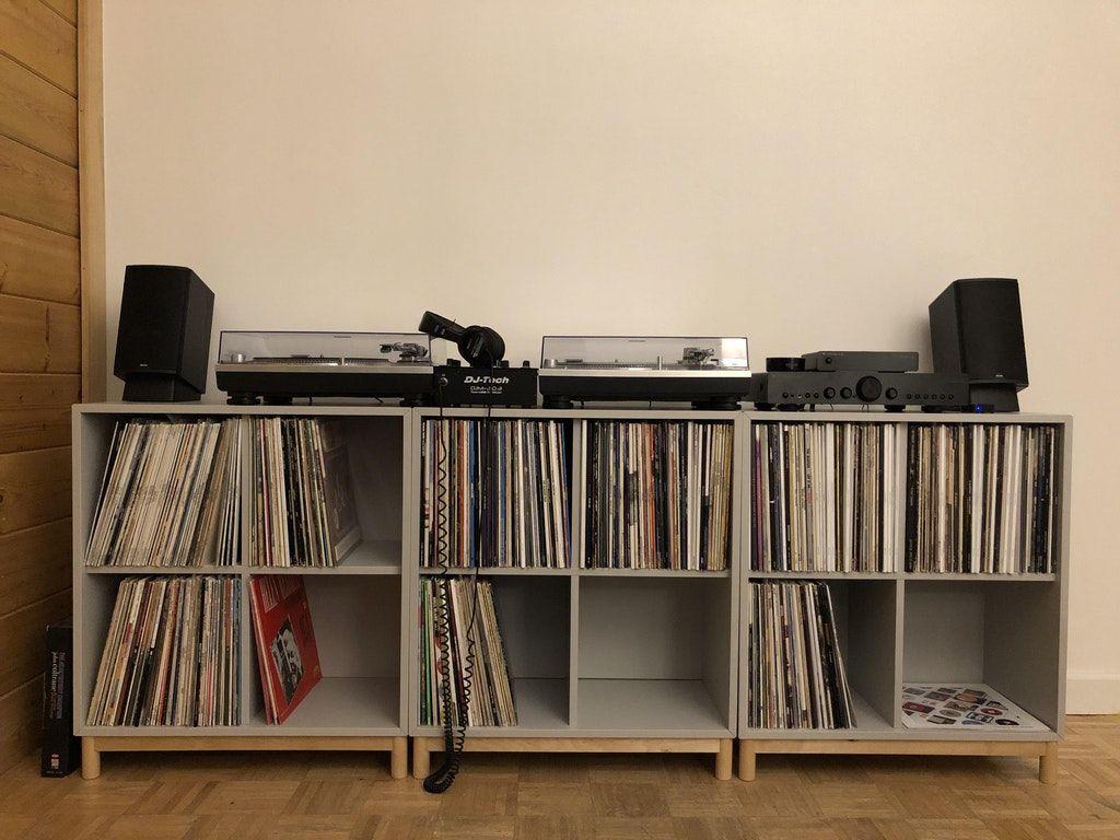 Ikea Eket For Vinyl Record Storage Console Vinyl In 2019 Vinyl Record Storage
