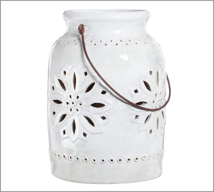 Pottery barn punched ceramic lantern daniel dan and paulas pottery barn punched ceramic lantern daniel dan and paulas wedding registry wedding registry junglespirit Choice Image