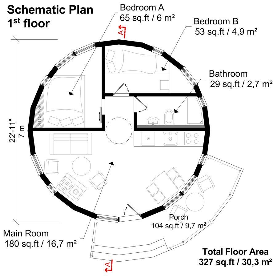 Round House Building Plans Round House Round House Plans House Plans With Photos
