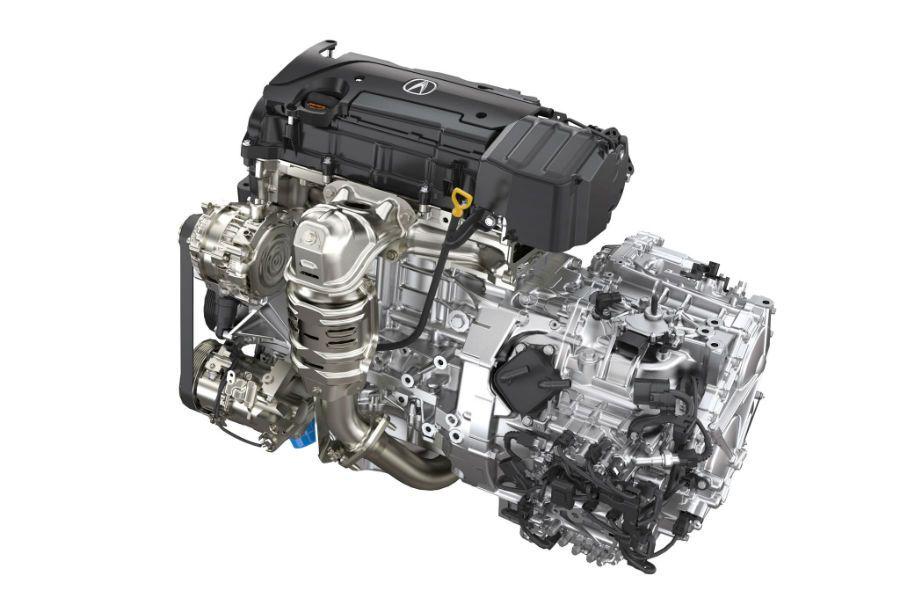 2015 acura tlx engine acura pinterest engine