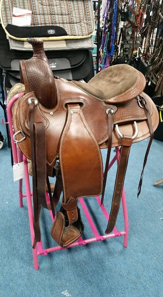 "16"" THSL All Around Western Saddle"