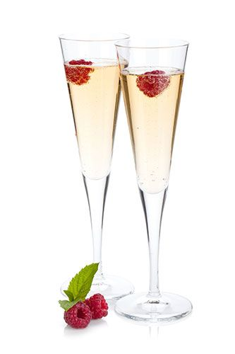 Midnight Madness 1 Oz Vodka Champagne Or Sparkling Wine And