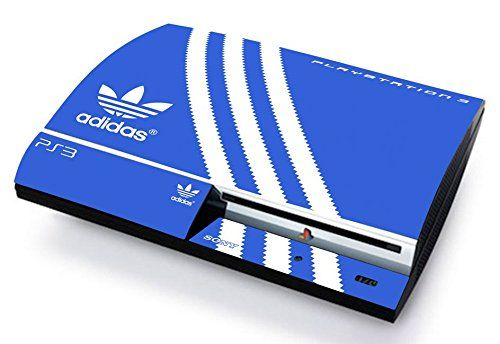 Adidas skin cover ps3 fat hd limited edition decal cover adesiva sticker playstation 3