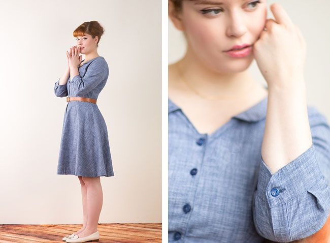 Hawthorne Dress by Colette patterns @Sarah Chintomby Tolbert Mitnick ...