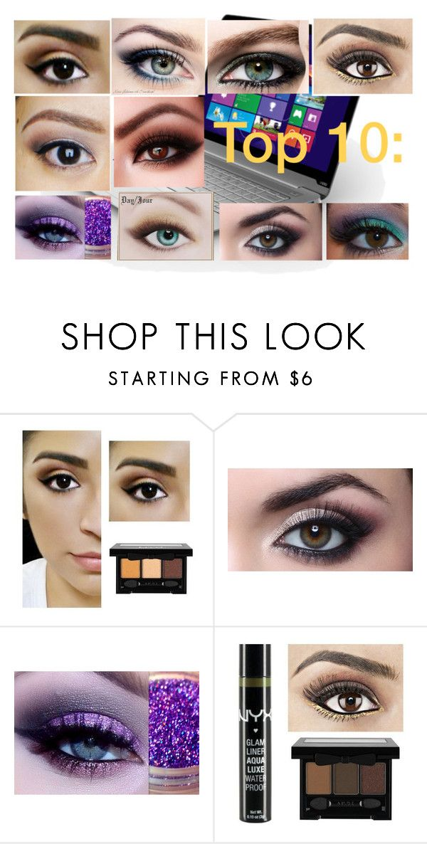 """""""Yeux"""" by lirouu ❤ liked on Polyvore featuring beauty, Urban Decay, Chanel and Too Faced Cosmetics"""