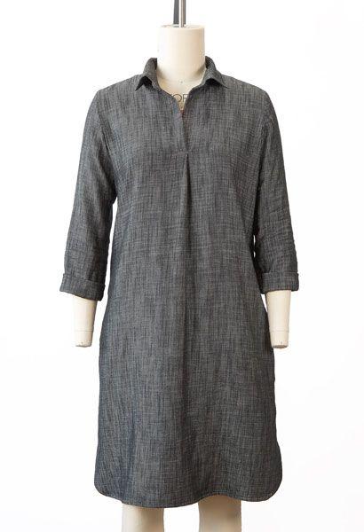 Gallery Tunic + Dress Sewing Pattern | Shop