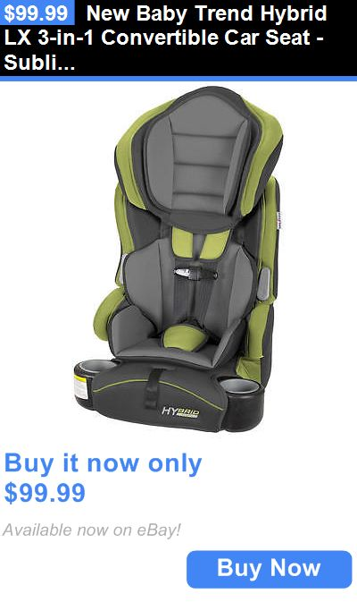 Baby New Trend Hybrid Lx 3 In 1 Convertible Car Seat