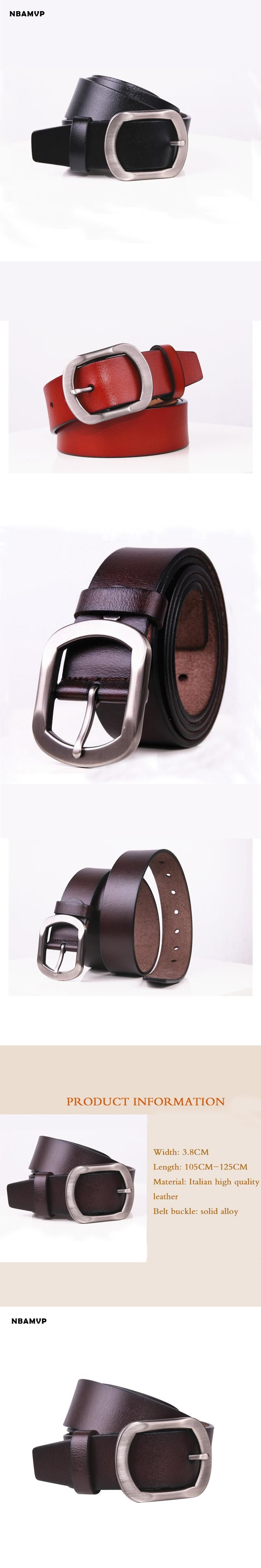 2017 mens belt Vintage style pin buckle cow genuine leather belts for men  130cm high quality mens belt ceinture homme YS107 be3137aec7f
