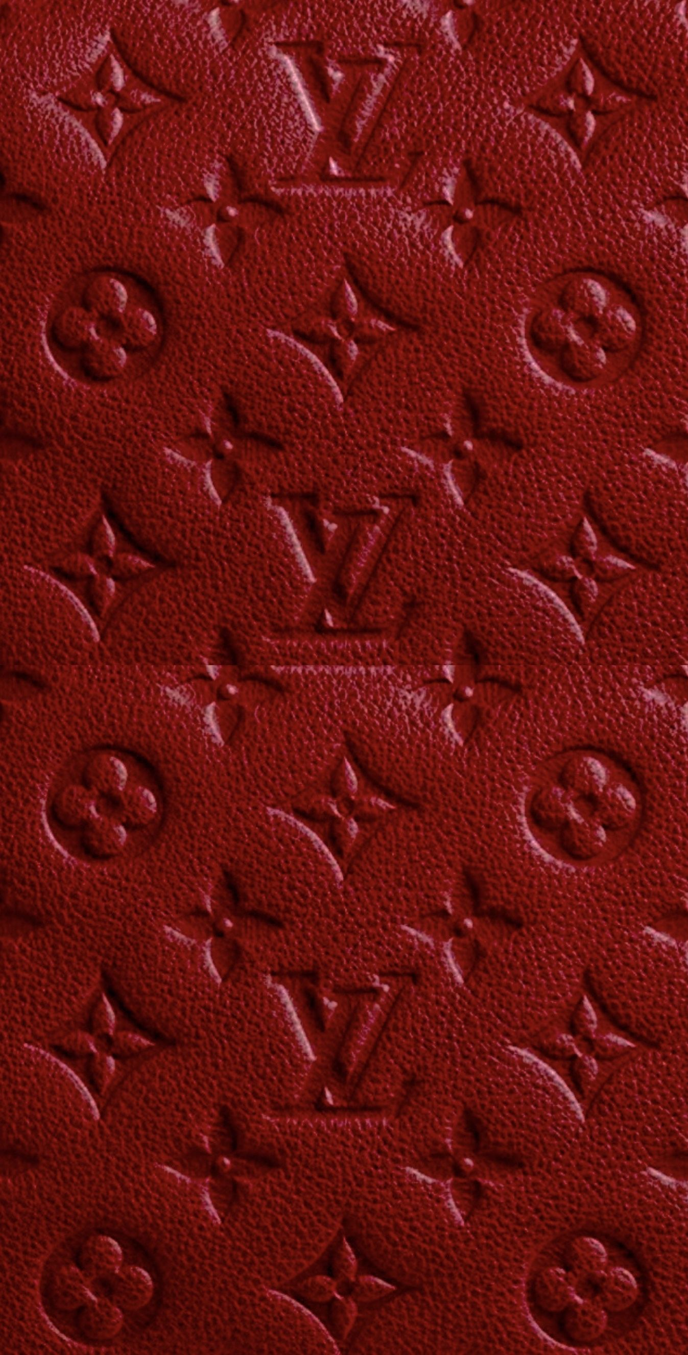 Tapete Louis Vuitton rot