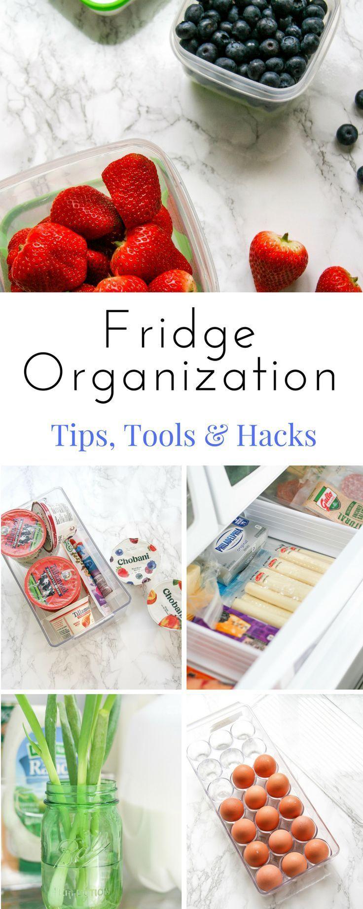 Fridge Organization Simple Tips and Tools Fridge