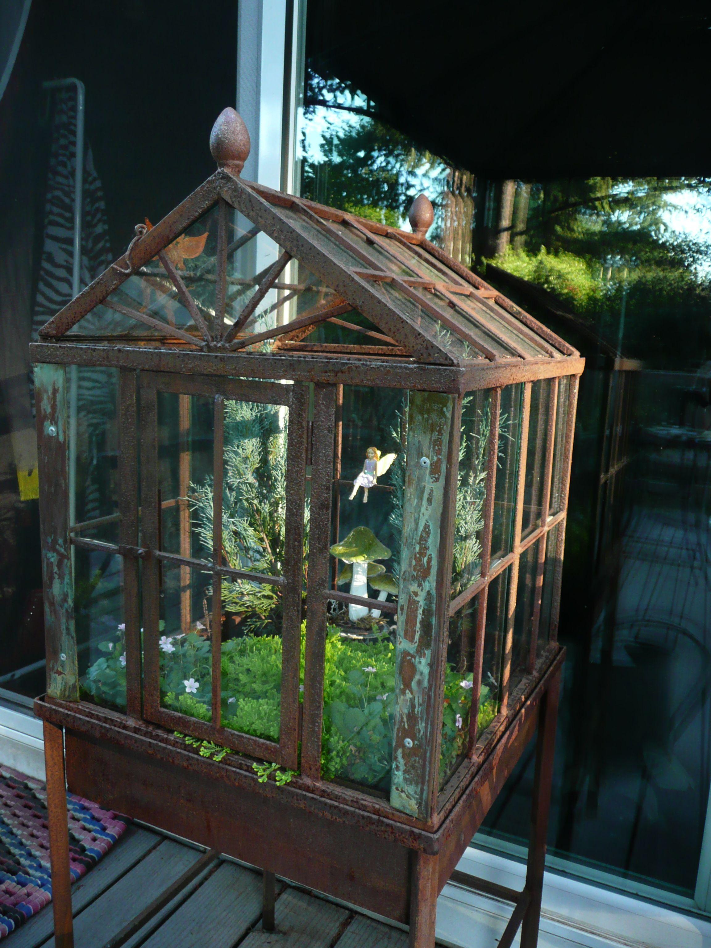 terrarium fairy garden fairy gardens house additions pinterest feengarten mini. Black Bedroom Furniture Sets. Home Design Ideas