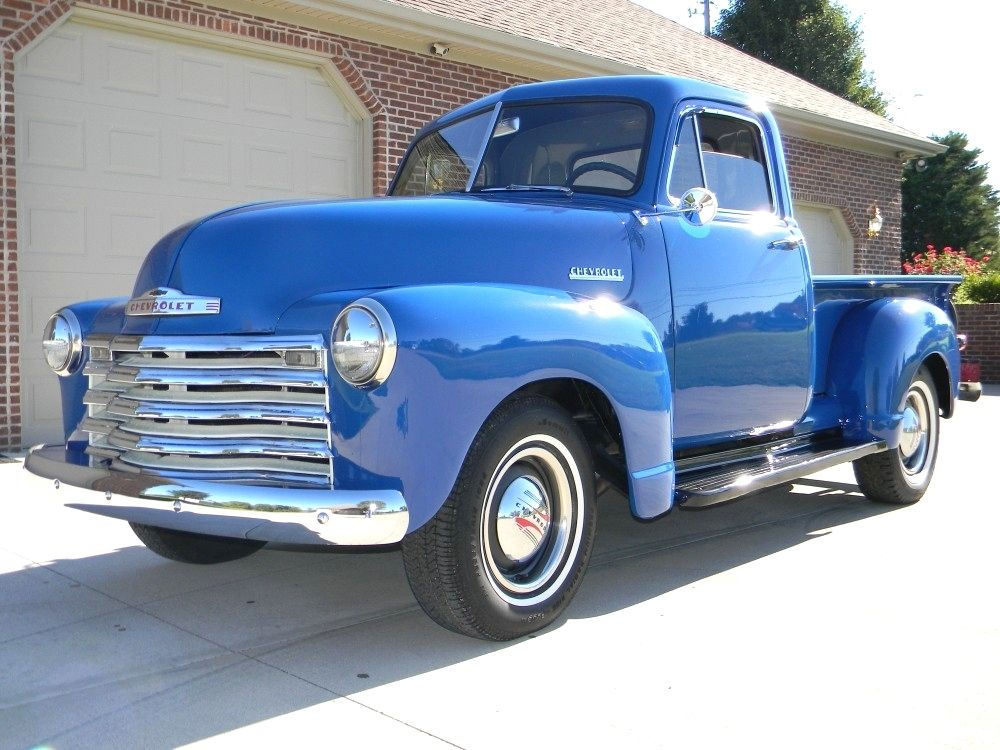 Old+Chevy+Cars+and+Trucks | 1952 Chevy Truck | CLASSIC AUTOS ...
