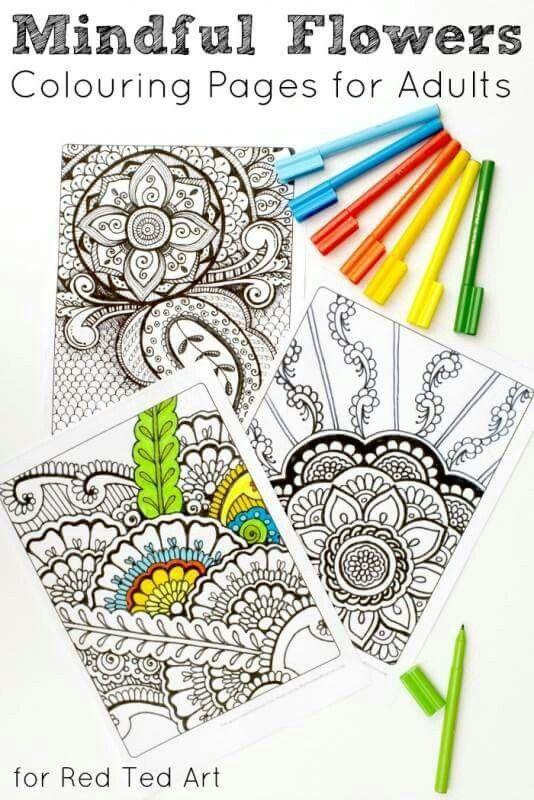 More adult coloring pages | adilt coliring | Pinterest | Mandalas ...