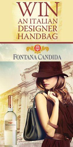 Win An Italian Leather Handbag