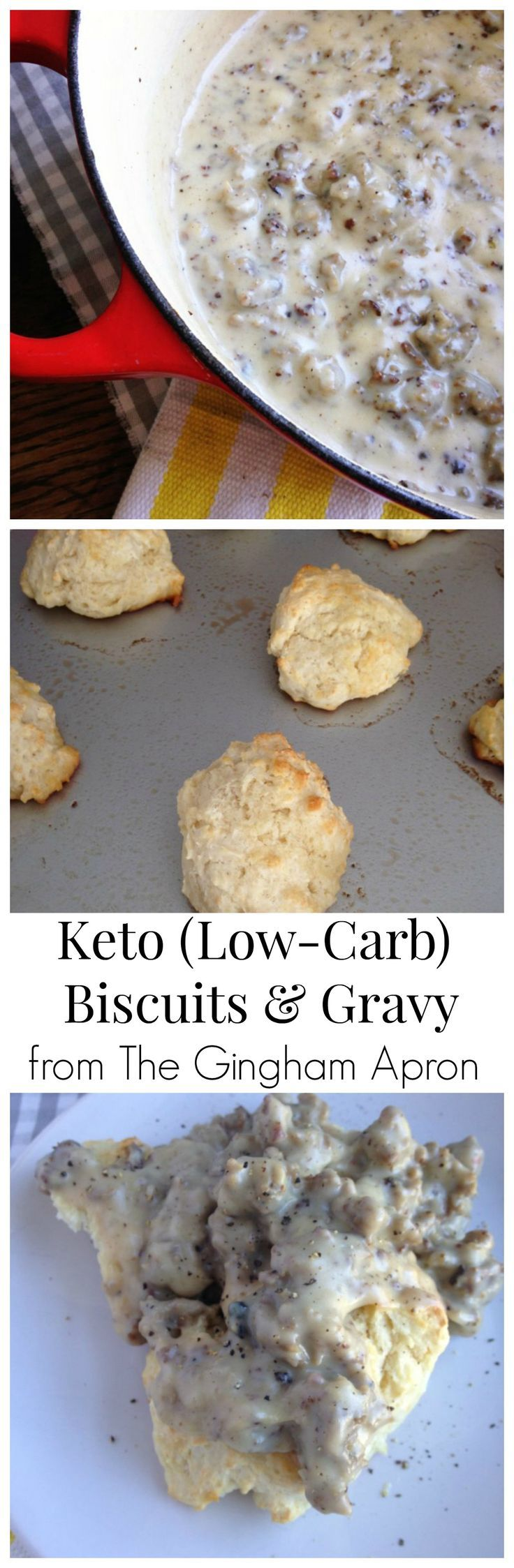 Low Carb Keto Biscuits And Gravy Recipe Low Carb Biscuit Biscuits Gravy Food Recipes