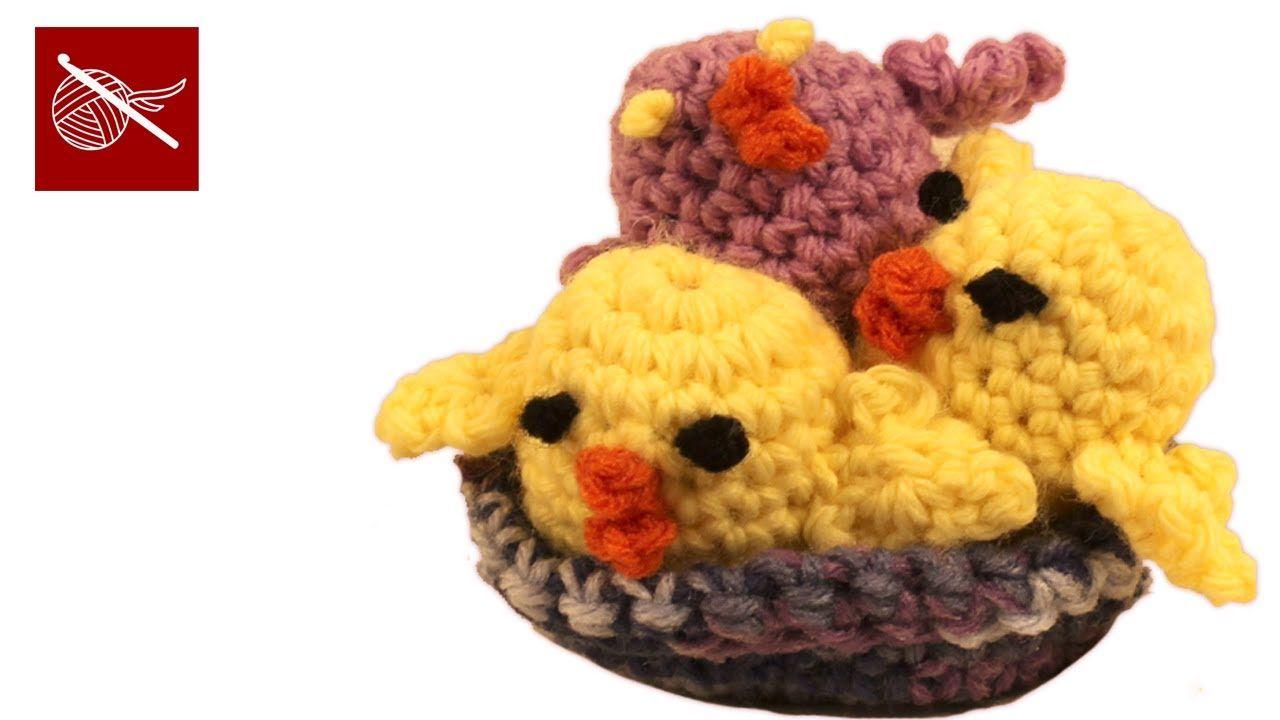How to make a Crochet Peep - Amigurumi #CrochetGeek