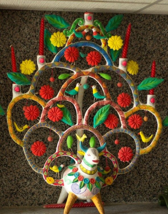 The famous Mexican Tree of Life - by Heron Martinez 1960's.