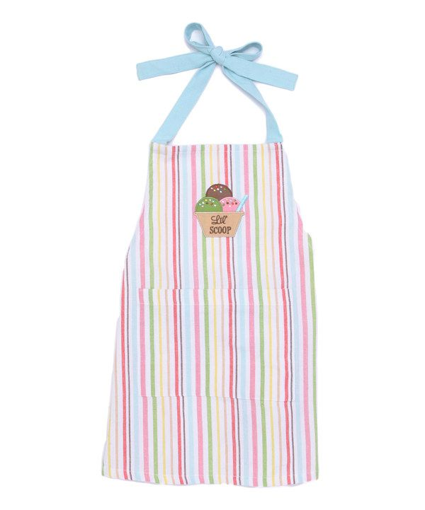 Take a look at this Design Imports Lil' Scoops Apron - Kids on zulily today!
