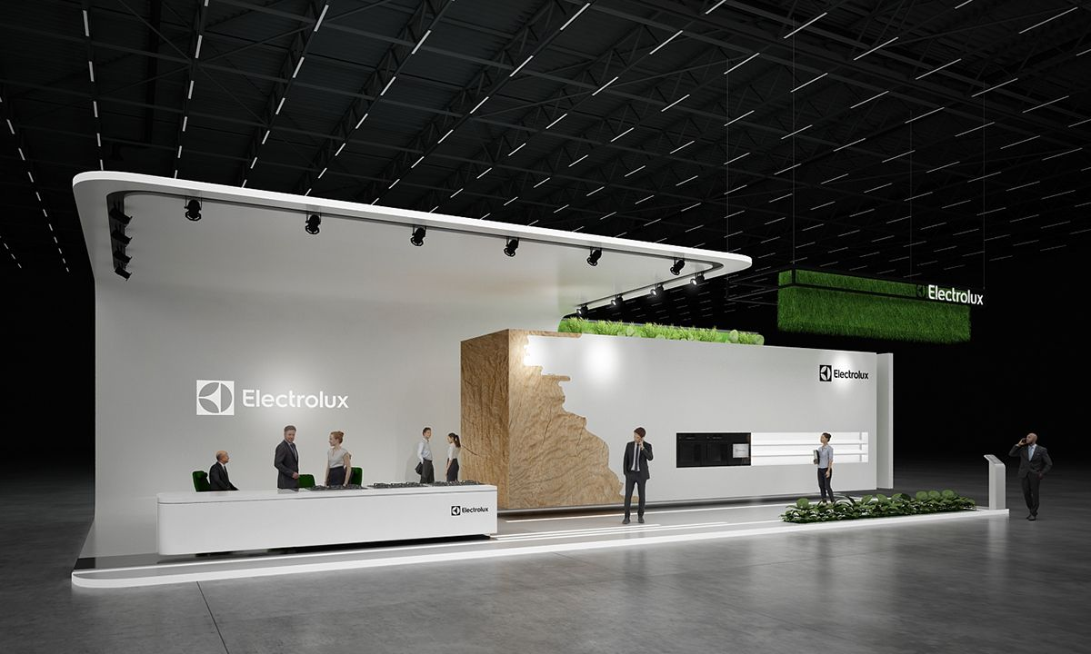 Expo Stands Spaceship : Exhibition stand quot electrolux design by gm group