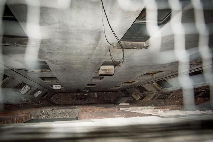 Apartment Building Air Shaft classic air shafts through tenement rooftops -favorite! | air