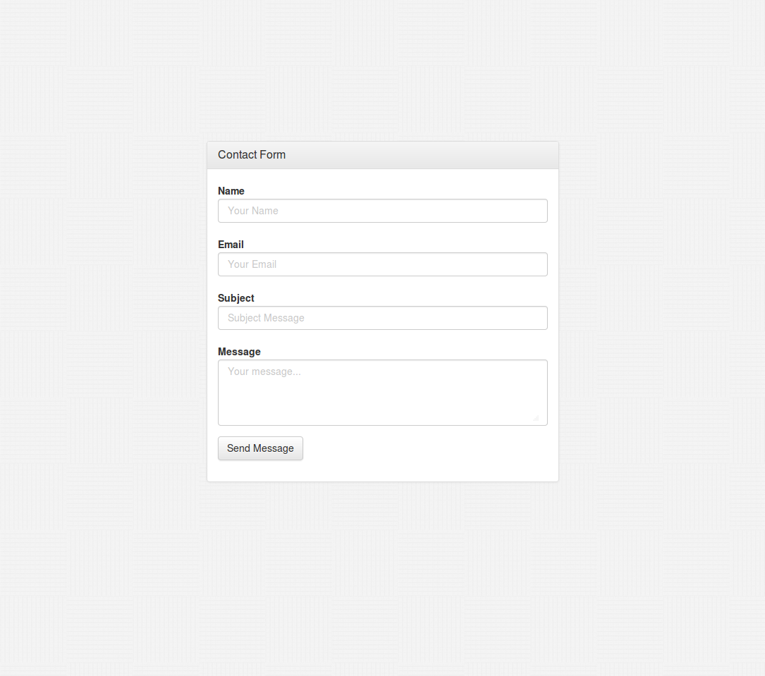 How to create a php bootstrap 3 contact form which works with how to create a php bootstrap 3 contact form which works with blogger and any falaconquin