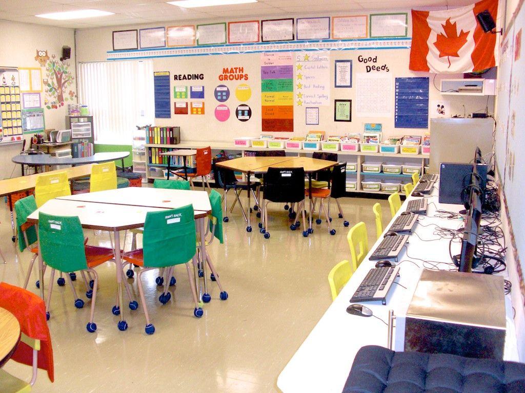 Minimalist Classroom Management ~ Love the tennis balls on chair legs education