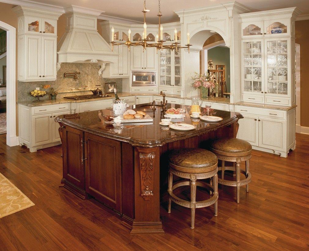 Custom Cabinets Bathroom Kitchen Cabinetry Omega Old World Kitchens Kitchen Design Gallery Custom Kitchen Island