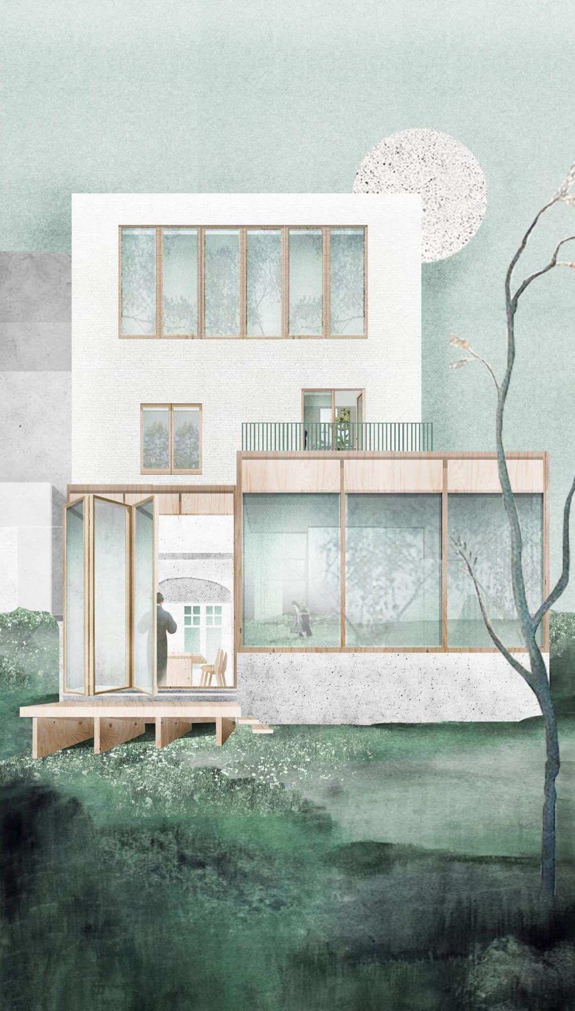 Pin Von Flora Struber Auf Wohnbau Architektur Zeichnungen