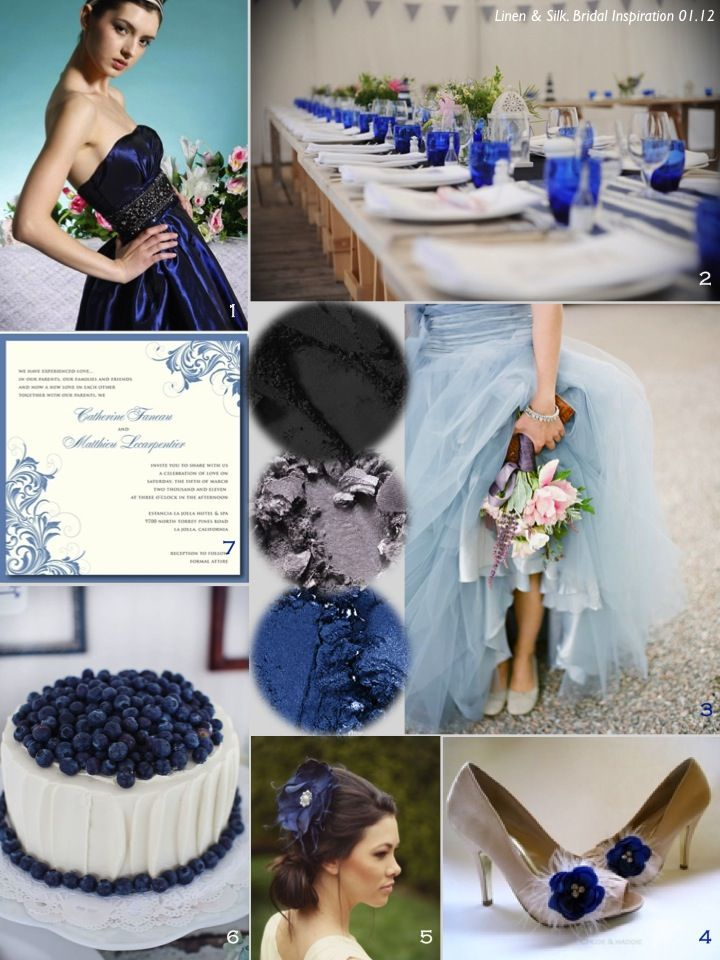 Grey And Blue Wedding Colors